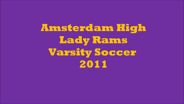 Lady Rams Soccer 2011 banquet video