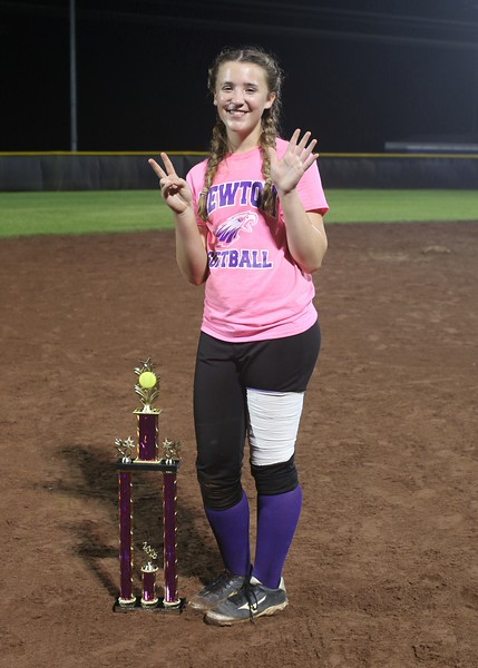 Congratulations to the first home run derby winner, Kayla!