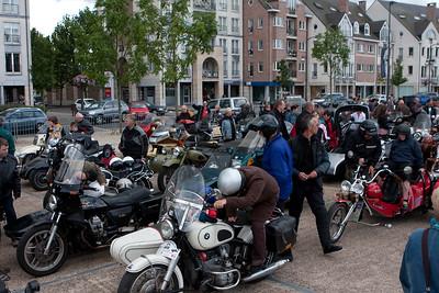 Zandbergrun 2009 - Tussenstop Turnhout