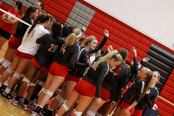 WHS Volleyball Scrimmage 082318