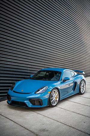 Pfaff GT4 Oslo Blue