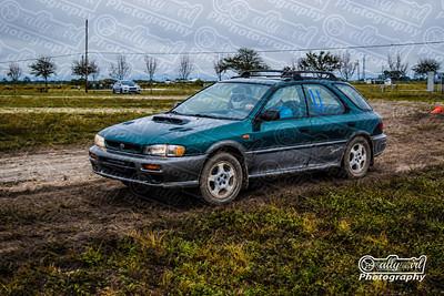 PA #11 Green 1998 Subaru Impreza Outback