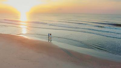 A Sunrise Engagement