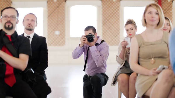 Photography at ceremony video