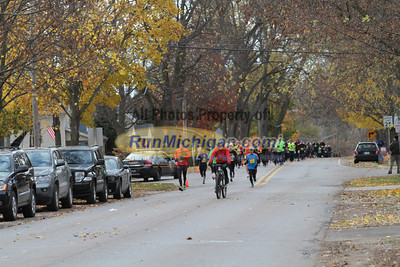 10K at 0.5 Mile mark - 2013 Clarkston State Bank Backroads Half Marathon & 10K