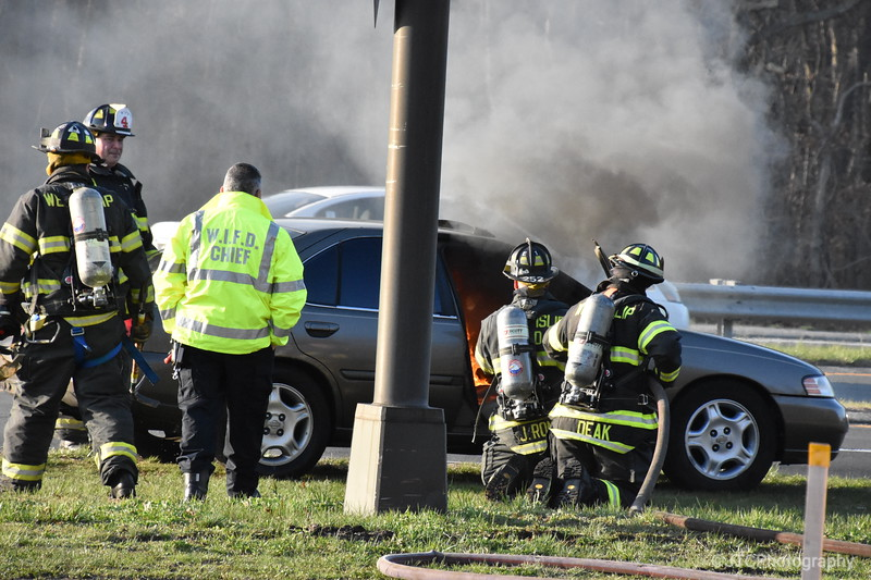 West Islip Vehicle Fire 04-17-2018