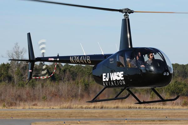 """EJ Wade Aviation 2017 Robinson R-44 """"Raven II"""", Norfolk, 20Jan18"""