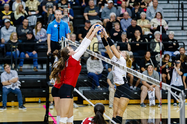 Purdue Volleyball vs Wisconsin 2018-9-29