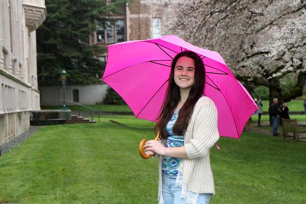 Maile Senior Spring Portraits 2017