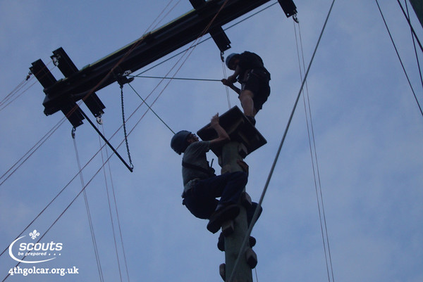 September - High Ropes