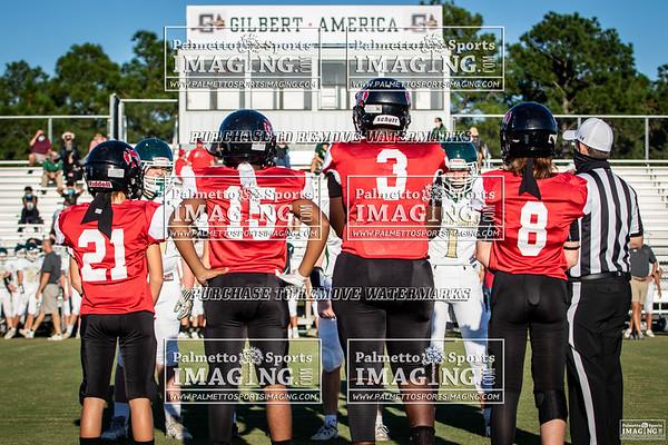 Gilbert Middle School Football vs Meadow Glen