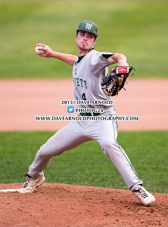 6/8/2015 - Varsity Baseball - MIAA Super 8 - Wachusett vs St. John's Prep