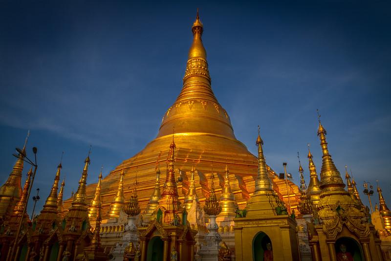 Shwedagon (Golden) Pagoda