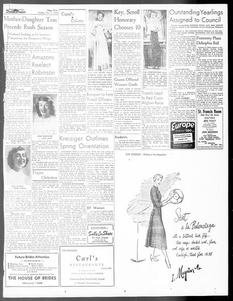 Daily Trojan, Vol. 40, No. 71, January 07, 1949