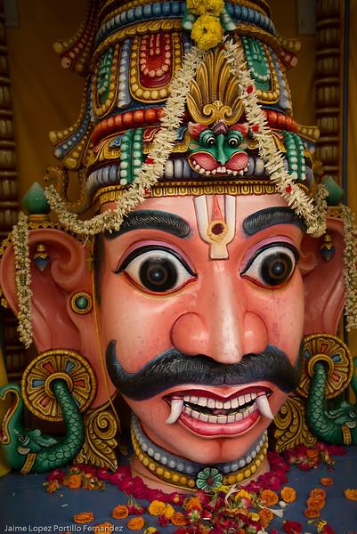 Singapore - temple Sri Mariamman - China Town