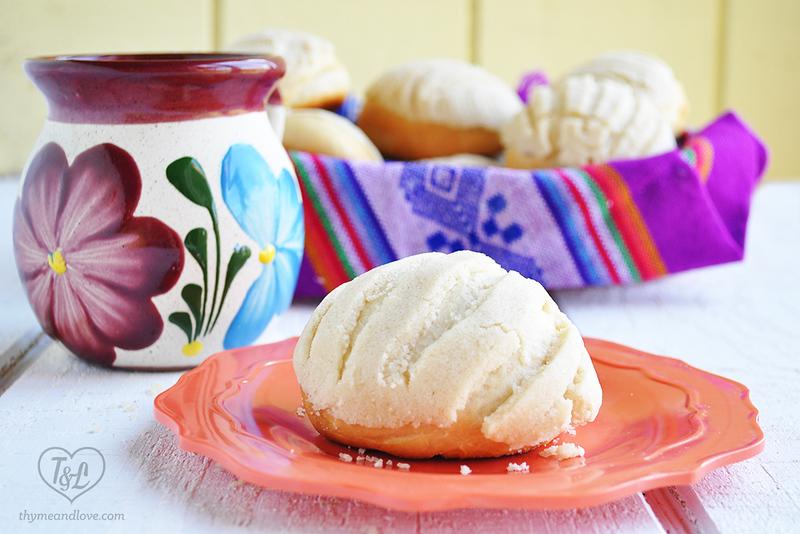 Vegan Conchas - Vegan Mexican recipes