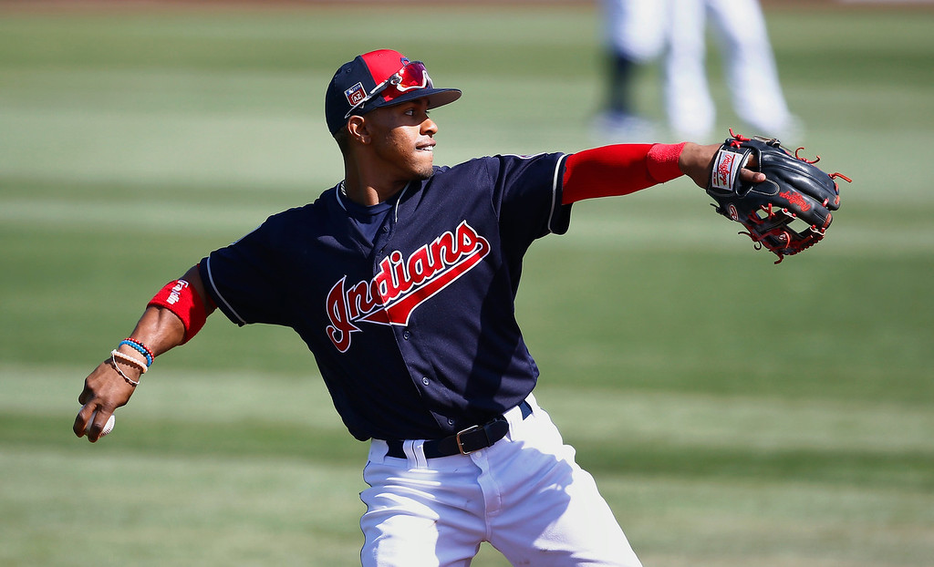 . 3. Shortstop Francisco Lindor: After banging out 44 doubles, hammering 33 home runs (he hit 15 homers in 2016) and driving in 89 runs, Lindor went 2-for-18 in the five-game series loss to the Yankees. His bat wasn�t the only one frozen out by the Yankees, but since we�re ranking which Indians are most important to the chase of a championship, the Tribe is going to need the regular season version of Lindor to complete the task. Lindor is determined to improve his defense, which he says tailed off last season.(AP Photo/Ross D. Franklin)