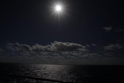 Day at Sea Nov 3 Sun-Eclipse