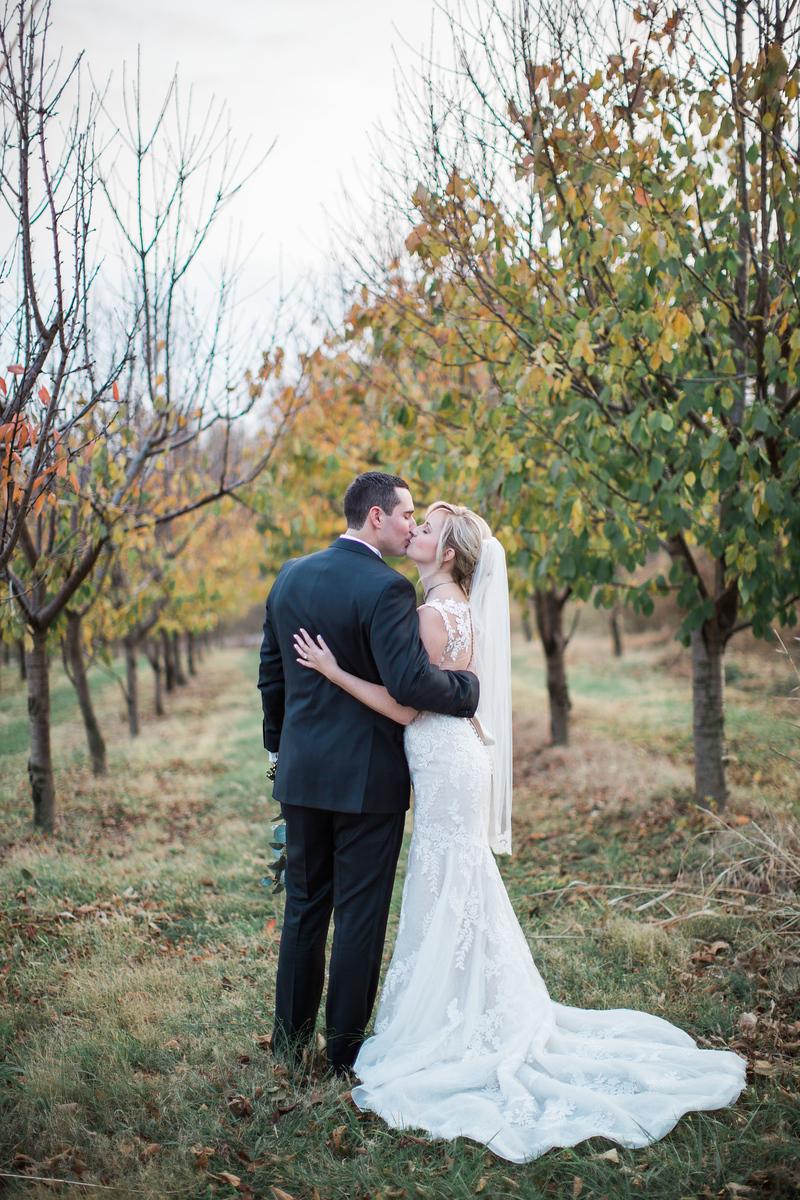 Meg and Kyle's Bluemont Vineyards wedding photos in Virginia. Photos by top Washington DC wedding photographer Jalapeno Photography.