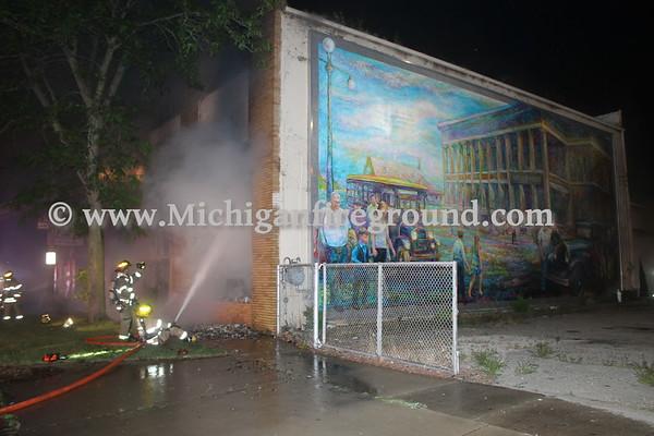 7/8/17 - Lansing warehouse fire, 1314 S. Washington