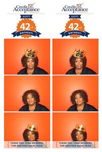 Credit Acceptance 42nd Birthday