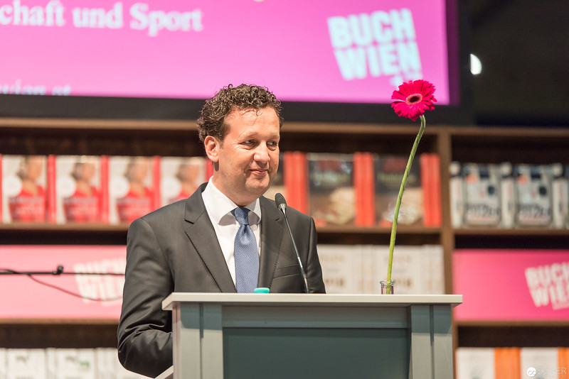 Ansprache von Benedikt Föger zur Buch Wien 2017 Eröffnung