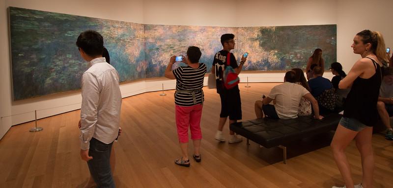 "Claude Monet, ""Water Lilies [sic]"" (1914-26) -- Museum of Modern Art (MoMA), New York"