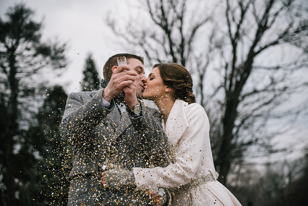 Jen & Brian: New Year's Day Surprise Wedding