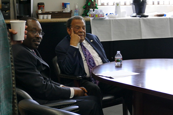 2017 12-04 Ambassador Andrew Young came to speak