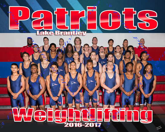 LBHS Weightlifting Team Photo - THESE PHOTOS ARE NOT FOR ONLINE PURCHASE