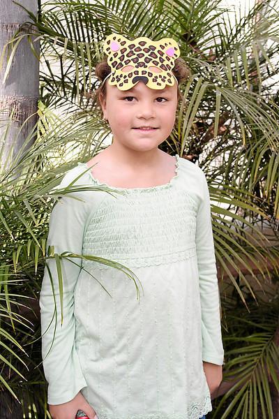Alanna at her birthday party at the Santa Barbara Zoo