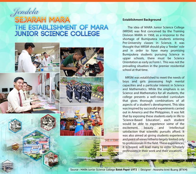 The Establishment Of MARA Junior Science College