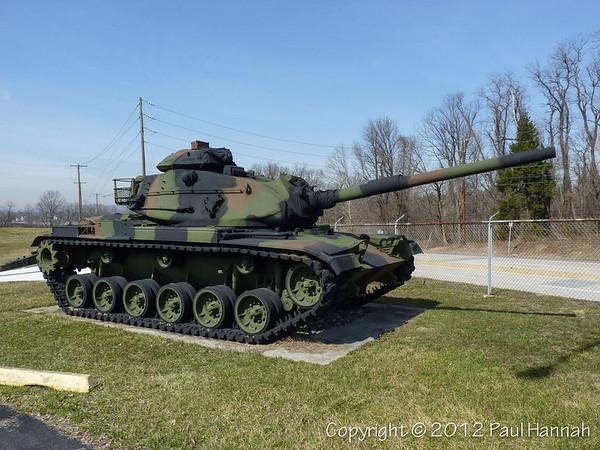 28th Infantry Division HQ - Harrisburg, PA - M60A3