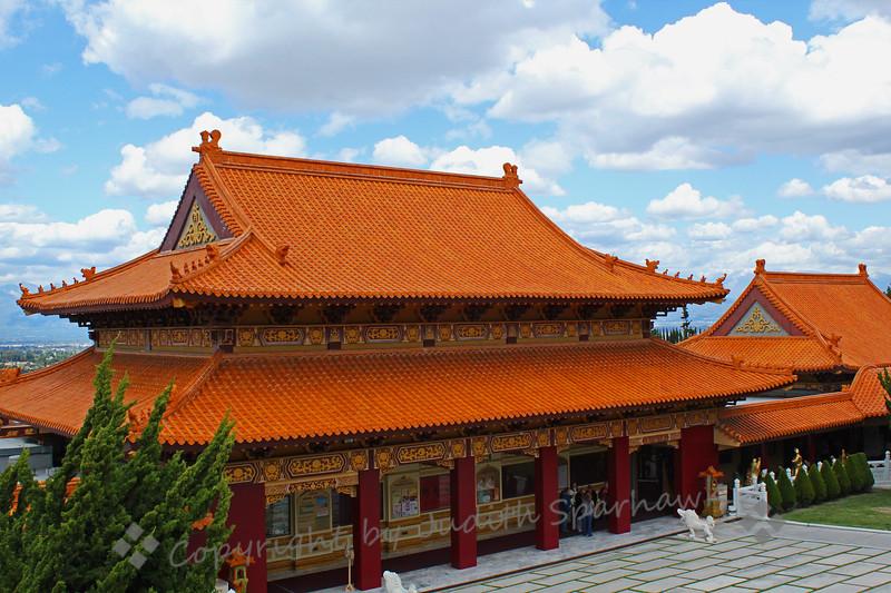 Hsi Lai Temple Buildings