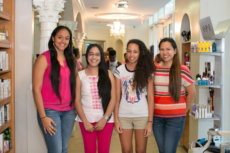 Shakira Perera, Anna Adupa, Victoria Powery, Heidi Jones