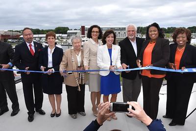 City celebrates grand opening of marina. 6/13/2016