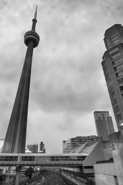 CN Tower - The PATH, Toronto, Ontario, Canada - August 10, 2015