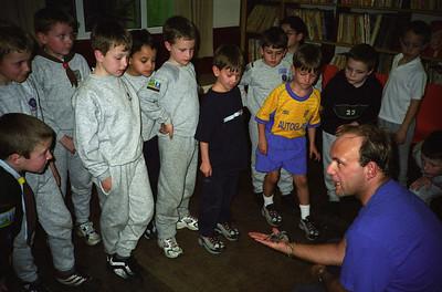 Beavers Reptile Visit 2001