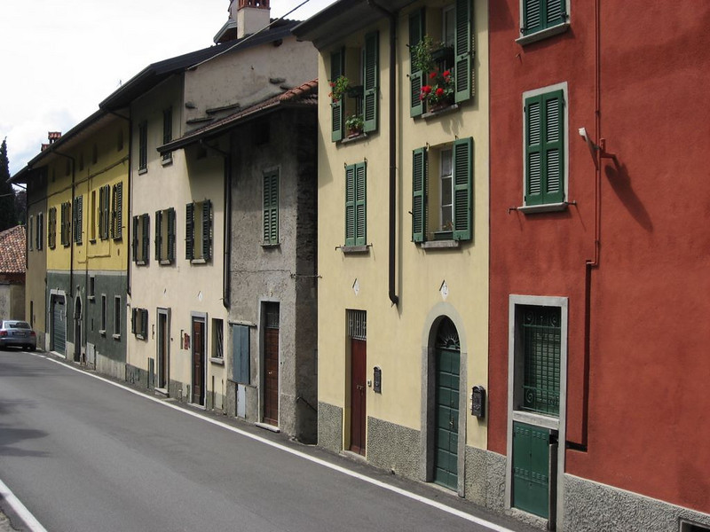Hamlet of Fiumelatte which is part of Varenna