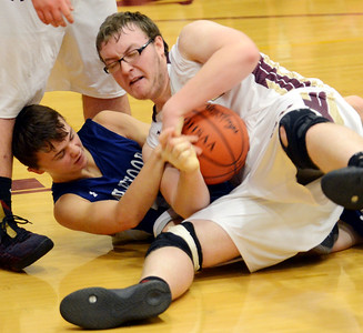 Maplewood at Pymatuning Valley boys basketball 1-19-19