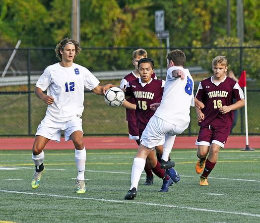 New Britain-Southington Soccer 10-1-20