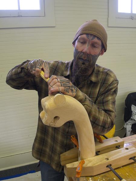 Carving Dragon Heads Fall 2014 007.JPG