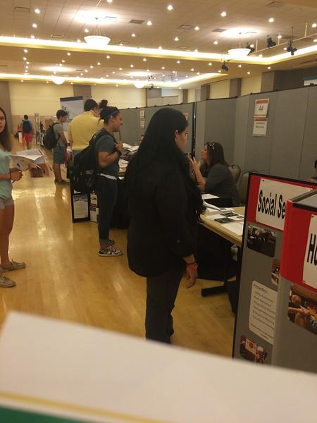 Volunteer Fair 9/16/15