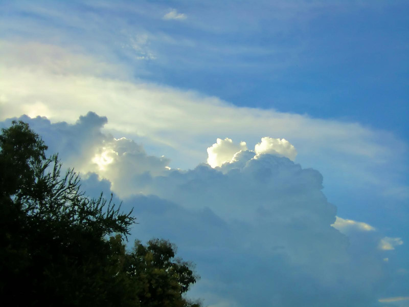 Chiang Mai clouds....