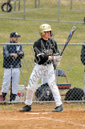 Wyomissing vs Berks Catholic High School Baseball 2014 - 2015