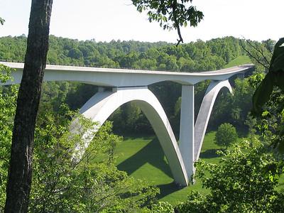 The Natchez Trace and Blue Ridge