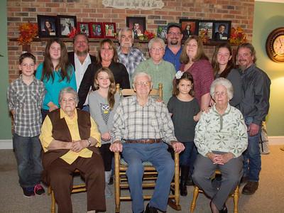 Becky Myers Family 2014