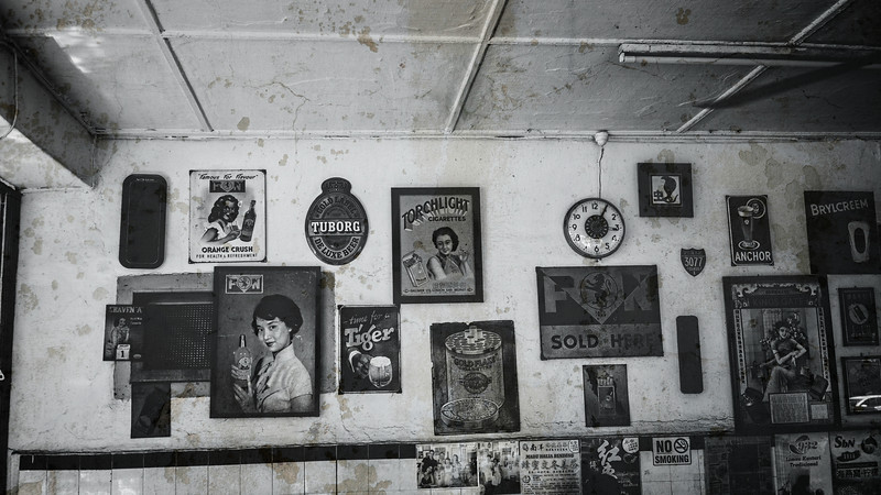 Cafe Wall in Penang