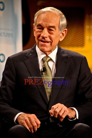 Ron Paul at Pella Manufacturing