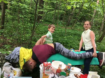 2017-06-24, Picnic in Timiryazevskiy park with Polidanovs